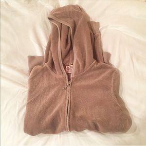 Light Brown Terry Cloth Juicy Sweater